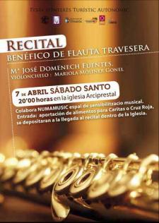 Recital benèfic de flauta travessera