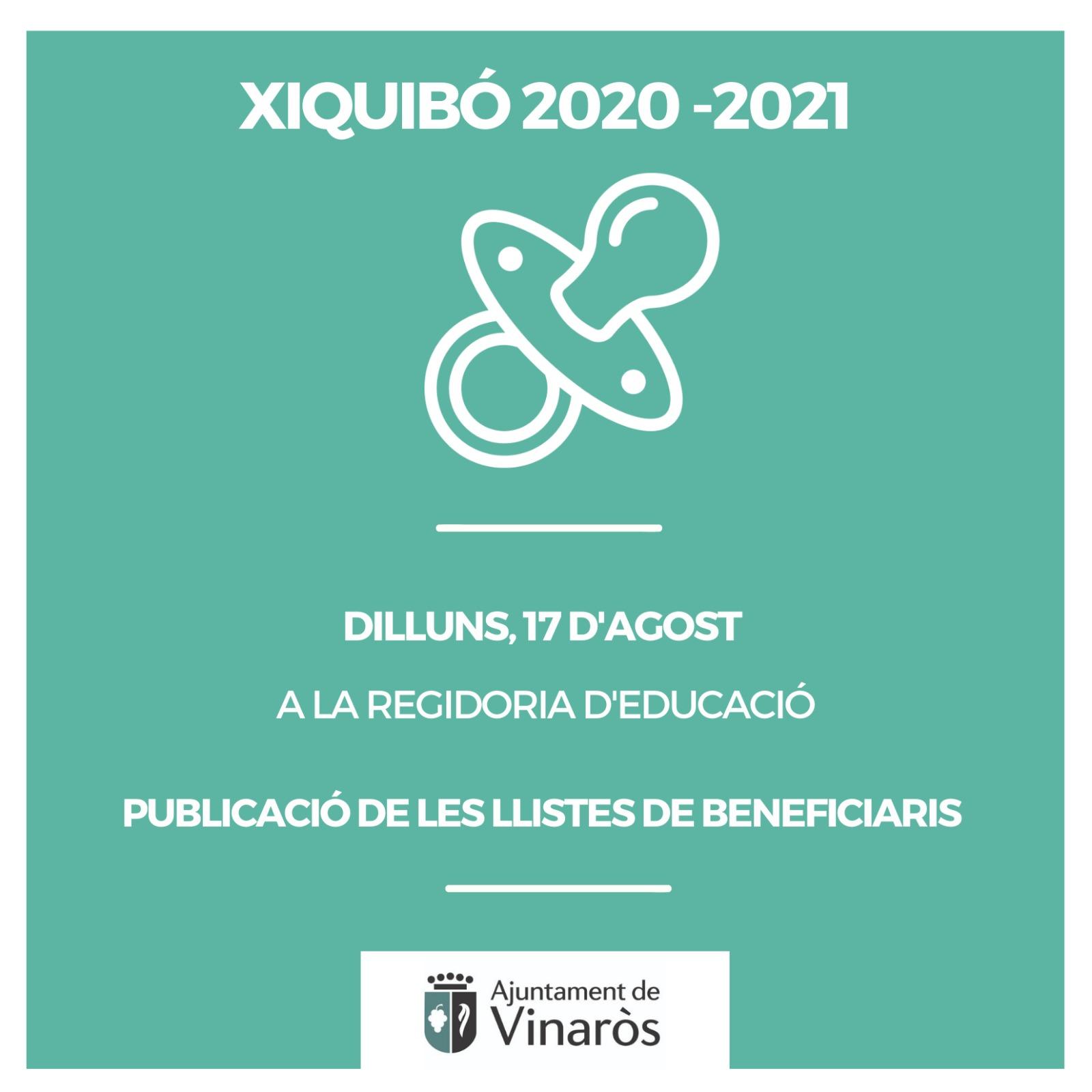 Xiquibó 2020-2021