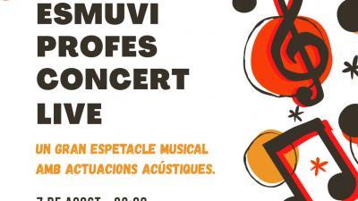 Esmuvi Profes Concert Live