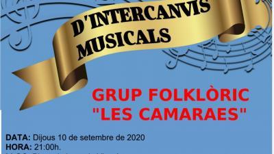 Actuación de Les Camaraes